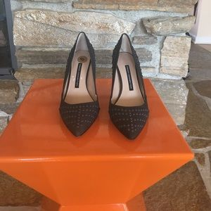 NWOT Studded French connection heels.